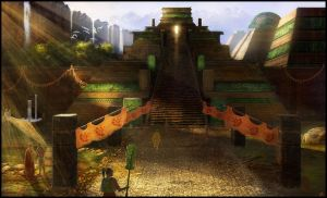 lost city concept by jamga