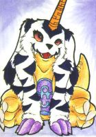 ..:: Gabumon ::.. ACEO by DaRkRaVeNsTeAr