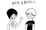 Dan and phill doodle by DragoCatt
