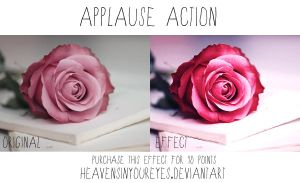 Applause Action by Heavensinyoureyes