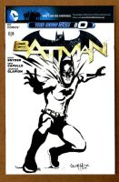 Batman Sketch Cover Front 1 by ChrisMcJunkin