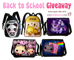 Back to school GIVEAWAY by tho-be