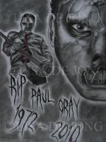 Paul Gray - Rest In Peace by LisaCooper91