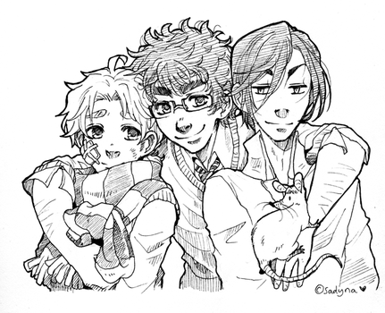 Marauders sketch by Sadyna