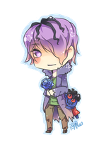 Ib-Chibi Garry by christon-clivef