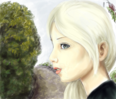 White hair by estefinha
