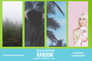 + WALLPAPERS RANDOM + by LittleDr3ams
