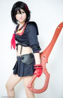 Ryuko Matoi - Kill La Kill by Mostflogged