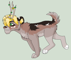 Deer Lion up for adoption by Kainaa