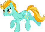 Stretching Lightning Dust by TheShadowStone