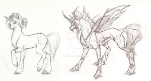 Pony Commissions: Prelim set 4 by Earthsong9405