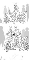 Motorcycle - Zutara Week by h4e