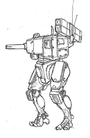 MGS inspired mech. by TheMuffinKingXxX