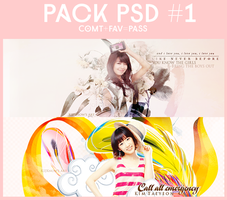 Pack PSD #1 by Knowchan