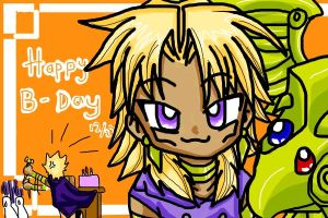 Happy bday Malik again by ryo-hakkai