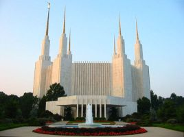 Washington DC Temple by skoticus