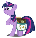 Twilight with a saddlebag by Dipi11
