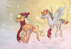 but baby, it's cold outside by Effsnares