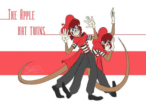 - The Apple Hat Twins - by PencilTree