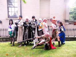final fantasy XIII group by danteftw
