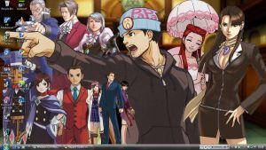 Ace Attorney Desktop by Happee-Dudlez