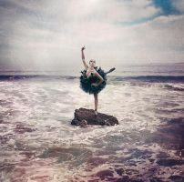 And Still I Dance Above The Raging Seas by johnsoko3236