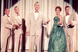 The Platters 1950's singing group by slr1238
