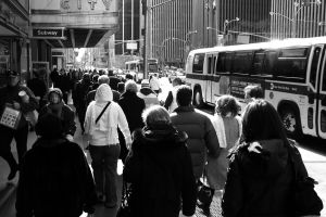 New York Crowd by odd-objects-stock