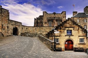 Edinburgh castle3 by Wintertale-eu