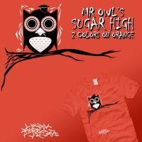 Mr. Owl's Sugar High by graffd02