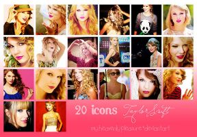 20 icons Taylor Swift by MyHeavenlyPleasure