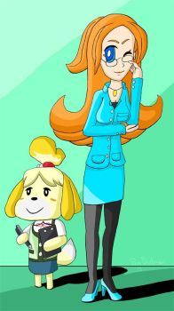 Mona and Isabelle by BooDestroyer89