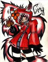 NAruto711's OC Cry (traditional) by BrownieTheif