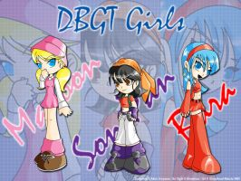DBGT Girls - Bleedman's Style by GhostHead-Nebula