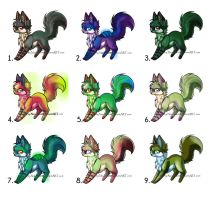 Fox Points Adopt  [CLOSED] by Vibakae