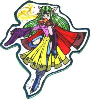 Rainbowish Sorceress by diffy