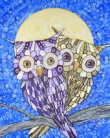 Lover's Limb Patchwork Owls by Mistress-Crow