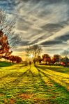 A Warm Autumn's End - Full HDR by OneofakindKnight