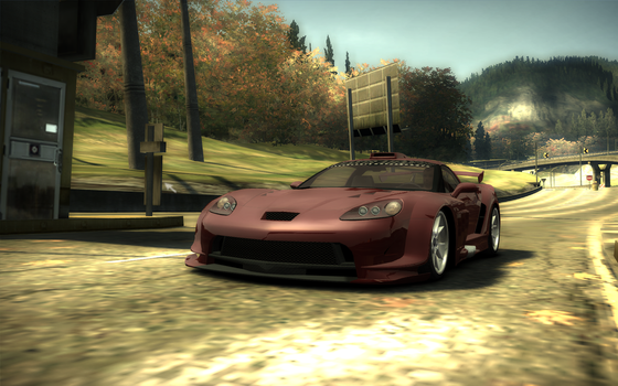 NFS: Most Wanted: WallScrN 3 by MrAhn
