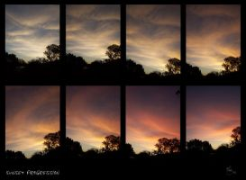 Sunset Progression by Lyssi