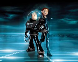 A Tron Toy Story by Major-Truth