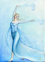 Elsa, Queen of Winter by MyWorld1