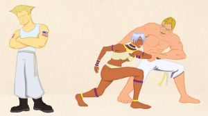 Street Fighter - Capoeira Lesson by DrOranj
