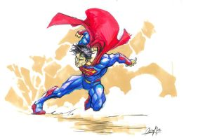Superman Redesigned by mistermoster