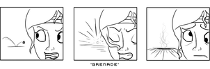 'Grenade' Reaction Sequence by Space-Sweeper