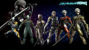 Metal Gear Rising Revengence (Cyborg Ninjas) by Outer-Heaven1974