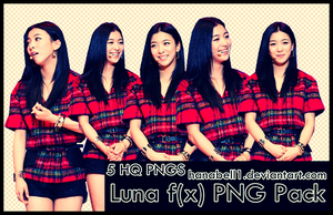 Luna f(x) PNG Pack by HanaBell1