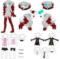 Ari Ref Sheet finished by xAribelle