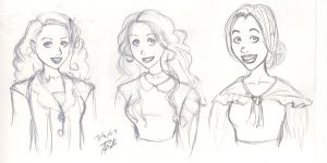 Young Ladies of Oliver by SinisterlySweet