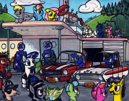 Gentleman, Start, Your Engines! by Sketchywolf-13